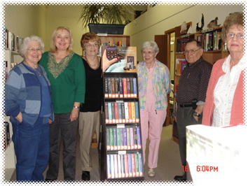 Friends with the Playaways they matched funds with Marshall Regional Arts Council for the library